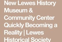 Lewis History Museum / What does and an interactive children's wing look like at the new Lewes History Museum & Community Center?
