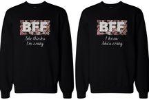 Bff trøjer
