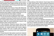 Press Release_Murat Erdör / Basında benimle ilgili çıkan haberler