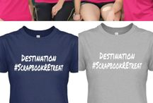 Scrapbook Retreat Shop / Find Scrapbooking Gear and Apparel to take on your next Scrapbook Retreat.
