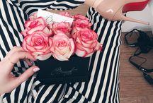 Flowerbox / Kwiaty w pudełku, Flowerbox, Poczta Kwiatowa, Kwiaty.  Kwiaty w pudełku na różnego rodzaju okazje: wesela, śluby, imieniny, dzień kobiet...