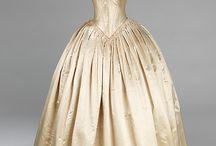 1840 - 1849 / kleding voor dames en heren van de jaren 1840 - 1849