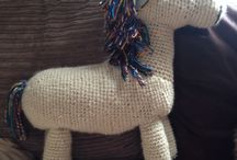 Knitted goodies / Things I've designed and hand knitted