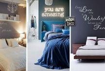 Idées déco pour la chambre à coucher / Le plein d'idées pour décorer votre chambre à coucher! Laissez-nous vous inspirer...