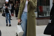 olive green dress styling