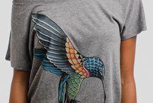 рисунки на футболке