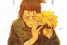 Iruka and Naruto