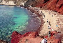 Beaches of Santorini