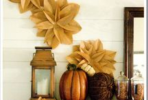 Fall Deco ideas / by Jessie Spiller