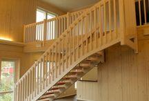 Puukaide portaat / Perinteiset puukaiteelliset portaat