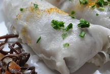 Chez toi ...ou chinois même et un peu japonais ... / Cuisine asiatique ,parfum de l'orient ,voyage à travers les plats