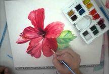 Art Lessons / Tutorials on art techniques / by Gail Van Camp