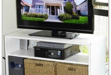 TV CABINETS / by Jeanna G