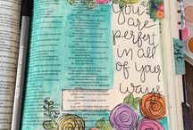 Bible Journalling and Drawing