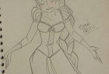 my sketches / lovetodraw