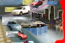 Electric car infographics / Infographics on electric cars, electric car charging, sustainability, and the future of transport