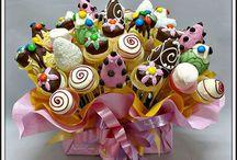 конфеты, попсы
