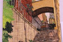 Art /Landscape quilt