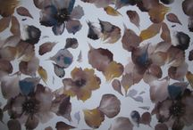Fibre Naturelle Hawaii / A modern defined watercoloured patterned floral collection