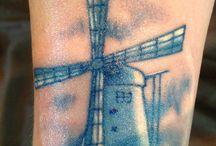 Delft Blauw Tattoo