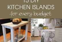 DYI kitchen islands