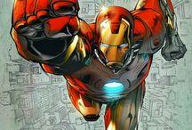 Iron Man / Iron Man (Tony Stark) is a fictional superhero
