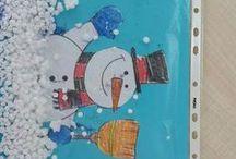Neve con bambini