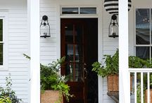 Pretty Porches & Outdoor Living / Front Porch Inspirations
