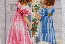cross stitch for children