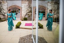 Real Asian Weddings / Surrounded by panoramic views of Italian landscaped gardens and 150 acres of private parkland, The Grand Marquee at Wynyard Hall is the North East's most unique and stunning setting for Asian weddings. - Preeti & Uttam (Paul Rogers Photography)
