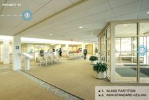 Prance building material / Building material in commercial and common area: ceiling, partition, curtain wall, windows