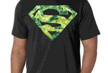 Superhero T-Shirts Featuring Batman, The Joker, Superman, Ironman & Many More.