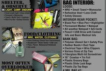 Skills - EDC and Bug-out bags / Essential things to carry in a bug-out bag