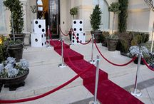 Casino party decoration
