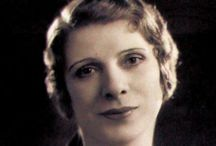 Aimee Semple McPherson Visin Board / Vision board for character development for Aimee Semple McPherson in Semple Gifts.