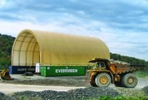 Mining, Oil, & Gas / Accu-Steel fabric covered mining, oil and gas structures provide the flexibility and quality you need for any job site. Let us help your business to become more efficient and profitable.