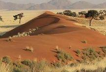 The Kalahari Desert and the Orange River / What shaped me