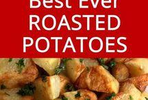 Roast patatos