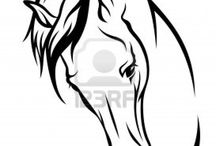 Horse tatoo