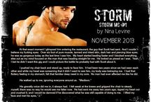 STORM & BLAZE (Madison & J) Storm MC #1 & 3 / Teaser pics made by my Street Team and readers.