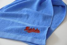 刺繍タオル / 取り扱いしているタオルにオリジナル刺繍を入れる