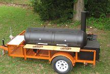 BBQ Smoker Trailer