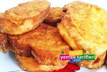 Kahvaltılık Tarifler / Sabah kahvaltılarınız da size yardımcı olabilmek adına kahvaltılık tarifleri oluşturduk. http://www.renkliyemektarifleri.com/kahvalti