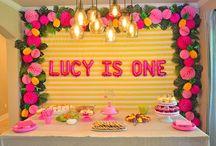 Lucy's 1st birthday