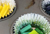 Créer crayons cœur fête mères