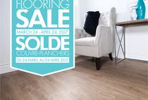 SNEAK PREVIEW - Floors First Canada - Flooring Sale. / Here's a sneak peek at some of the great flooring products that will be on sale starting March 24th, 2017  #Flooring #FlooringSale #Ceramic #hardwood #Laminate #Vinyl #LVT #Carpet #Cork #porcelain #HomeRenovation
