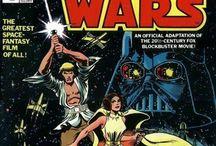 Star Wars comics & art work