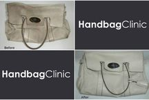 Handbag cleaning & restoration / Here you will find some examples of the fabulous work we do at Handbag Clinic.