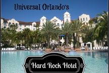 Universal Orlando's Hard Rock Hotel / Party like a superstar at this Universal Orlando on-site resort. Escape to the Italian Take the boat or walk to Universal Studios or Islands of Adventure. Onsite guests also great benefits like Express Pass and early entry into the Wizarding World of Harry Potter.