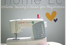 I want to learn how to sew... / by Emily Benson